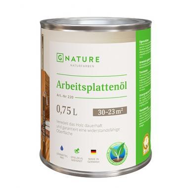 G Nature 220 Масло для столешниц Arbeitsplattenöl