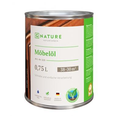 G Nature 225 Масло для мебели Möbelöl