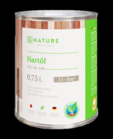 G Nature 245 Твердое масло Hartöl