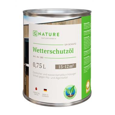G Nature 280 Защитное масло для внешних работ Wetterschutzöl