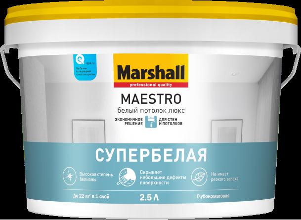 Marshall Maestro белый потолок люкс