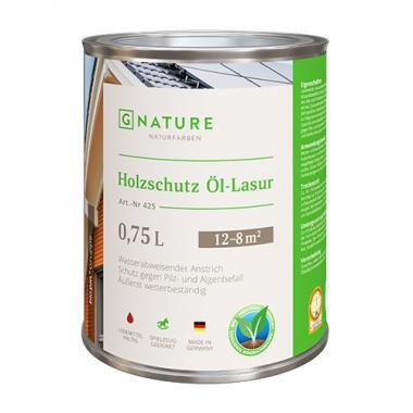 G Nature 425 Масло лазурь для дерева Holzschutz Öl-Lasur