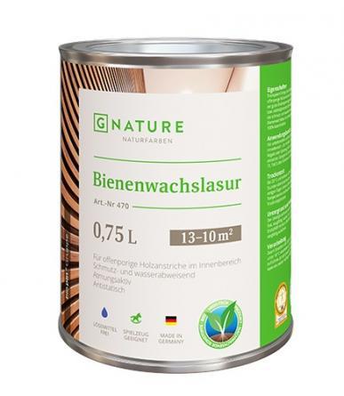 G Nature 470 Лазурь с пчелиным воском Bienenwachslasur farblos