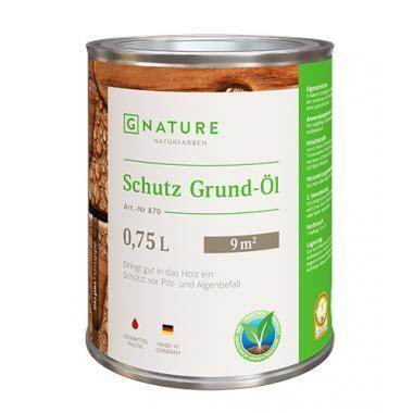 G Nature 870 Защитный грунт-масло Schutz Grund-Öl