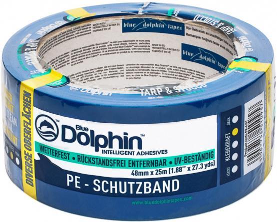 Blue Dolphin  Лента ПВХ фасадная, рельефные покрытия 48мм*25м