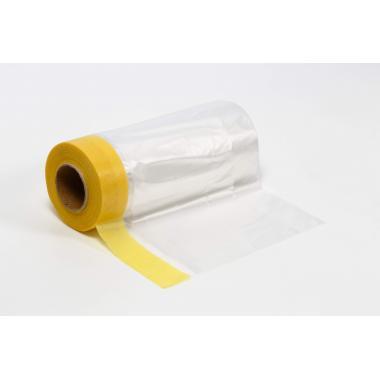 Mask Защитная плёнка с малярной лентой на основе специальной (рисовой) бумаги для гладких и слегка шероховатых поверхностей