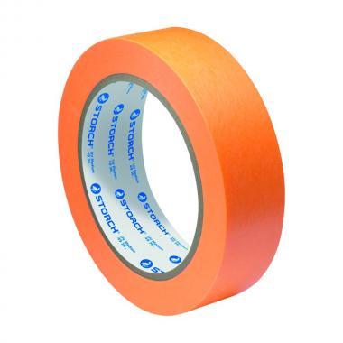 Лента малярная ПВХ, 50мм х 33м, оранжевая 491850