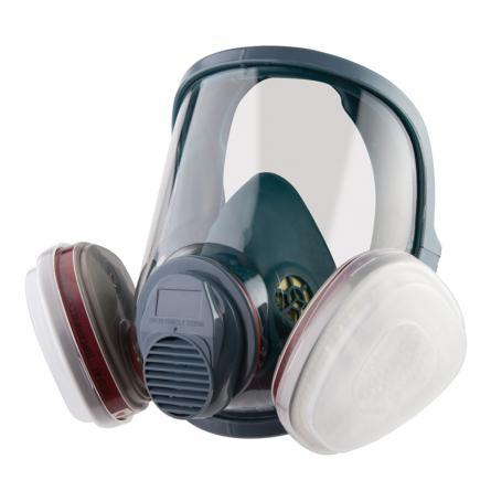 Полнолицевая защитная маска с двойным фильтром JETA SAFETY 5950