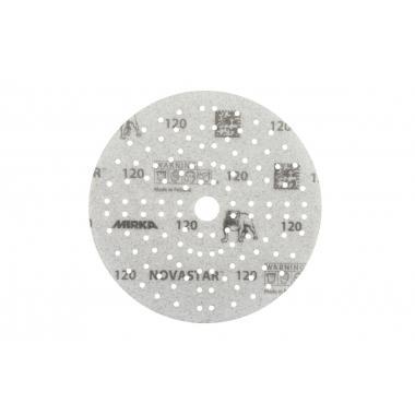 Шлифовальный материал  на пленочной основе NOVASTAR 150мм 121 отв
