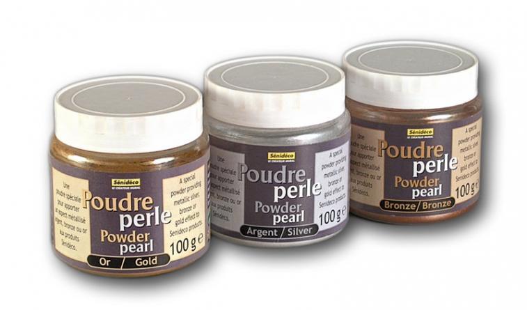 Senideco Powder Pearl перламутровый пигмент (пудра) бронза