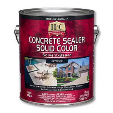 Sherwin Williams H&C Concrete sealer clear gloss solvent-based