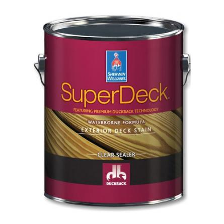 Sherwin Williams Superdeck Oil-Based Semi-transparent