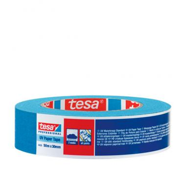Tesa малярная лента четкий край синяя УФ стойкая 25мм*25м