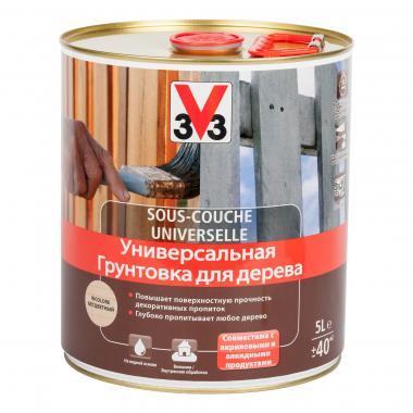 V33 Универсальная грунтовка для дерева