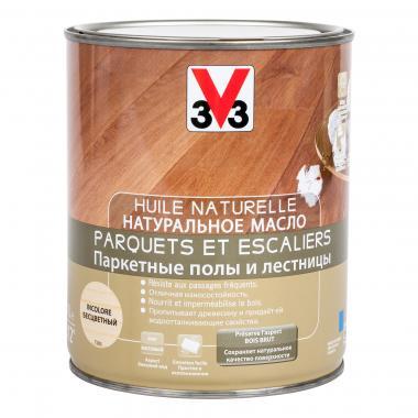 V33 Натуральное масло паркетные полы и дерево