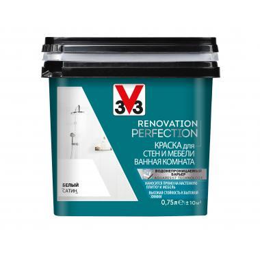 V33 Renovation Perfection Краска для стен и мебели в ванной комнате