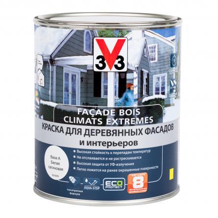 V33 Краска для фасадов и интерьеров Climate Extremes
