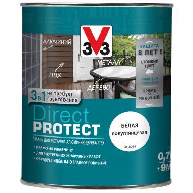 V33 Эмаль Direct Protection