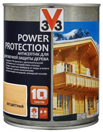 V33 Power Protection Долговечная защита древесины