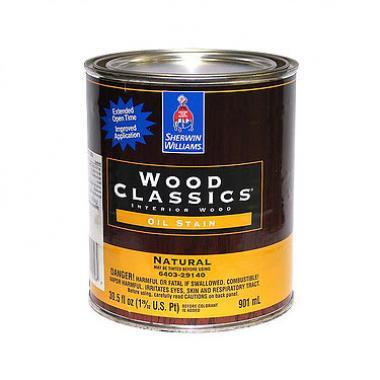 Sherwin Williams Wood Classics Oil-Stain